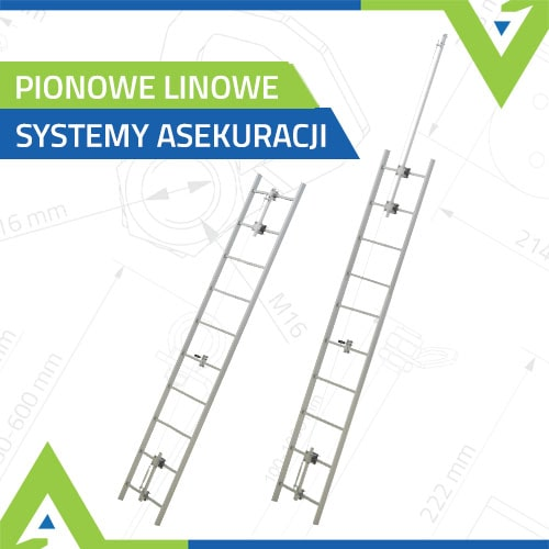 Pionowe linowe systemy asekuracji